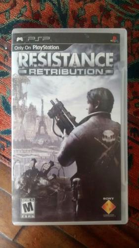 juego de psp resistance como nuevo