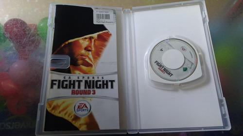 juego de psp,fight night round 3.