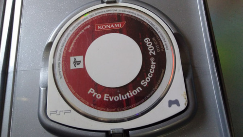juego de psp,pro evolution soccer 2009.