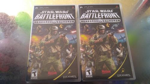juego de psp,star wars battlefront.