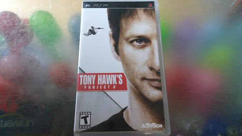 juego de psp,tony hawk's project 8