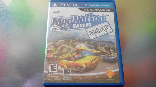 juego de psvita,modnation racers roadtrip.