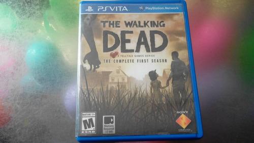 juego de psvita,the walking dead primera temporada