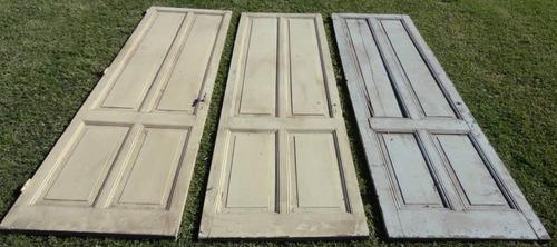 juego de puertas de cedro macizo - puertas de interior