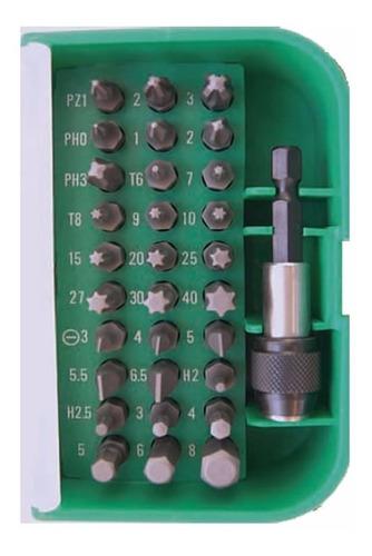 juego de puntas enc 1/4 surtidas 31 piezas bremen 4546