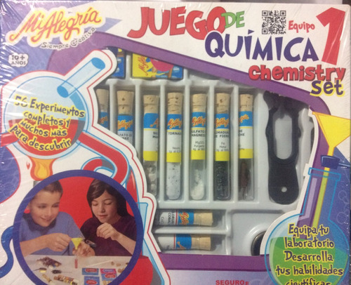 juego de química 1 mi alegría, juguetes