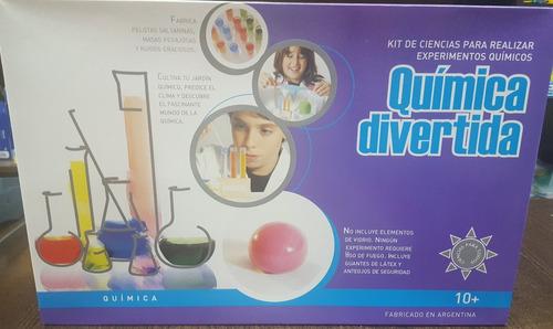 juego de quimica  kit de ciencias para realizar experimentos