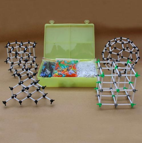juego de quimica molecular con estuche 968 piezas