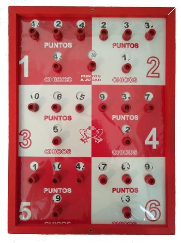juego de rana 8 argollas tablero envíos todo colombia
