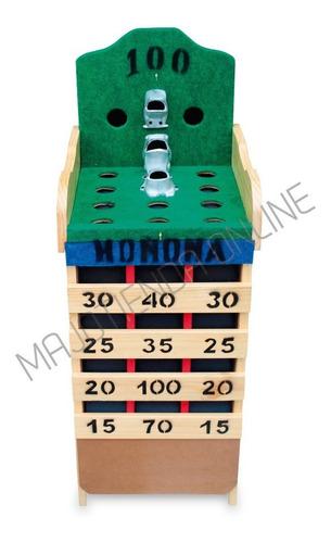 juego de rana tradicional sapo + 8 argollas, tablero  puntos
