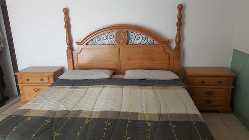 juego de recamara king size madera estilo clásico