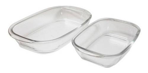 juego de refractarias de vidrio x2 und nadir