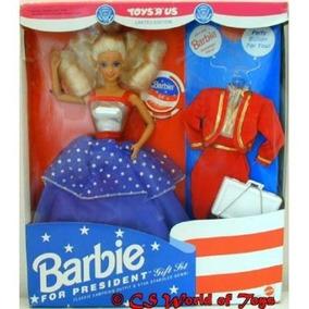 For Juego De Regalo Barbie President Toys R Us Edición Lim tQrdhCsx