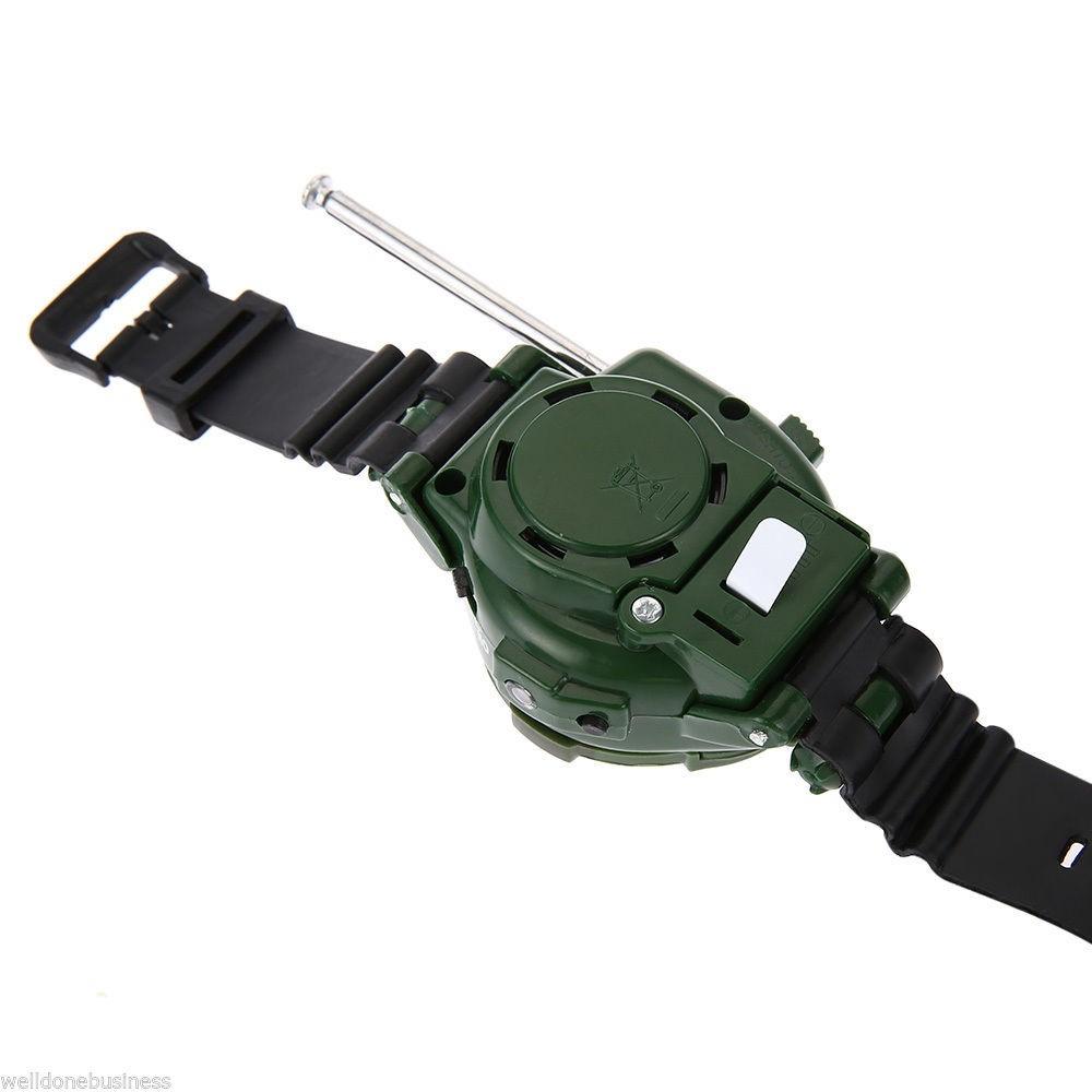 Juego De Relojes Walkie Talkie Juguete Militar 7 Funciones