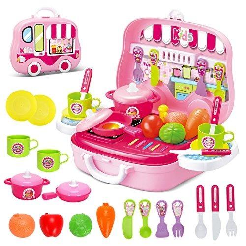 juego de roles cocina playset toy kids juego de cocina simul