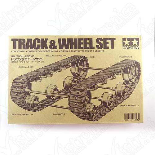 juego de ruedas tipo oruga tamiya  70100