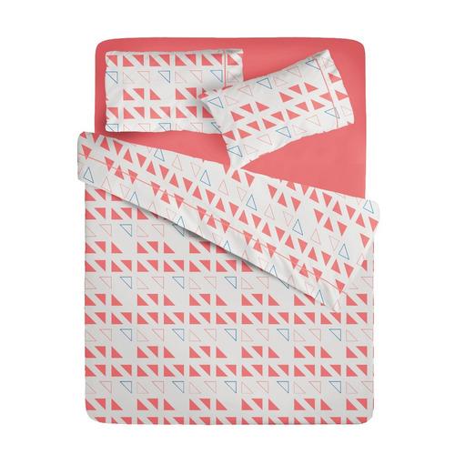 juego de sábanas ama de casa queen vancouver triángulos