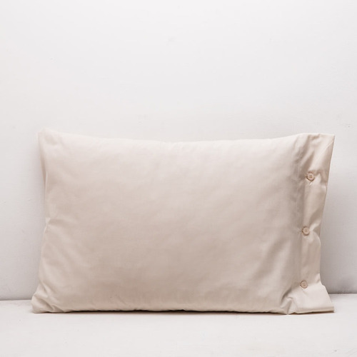 juego de sábanas arredo twin size línea egipcia - natural