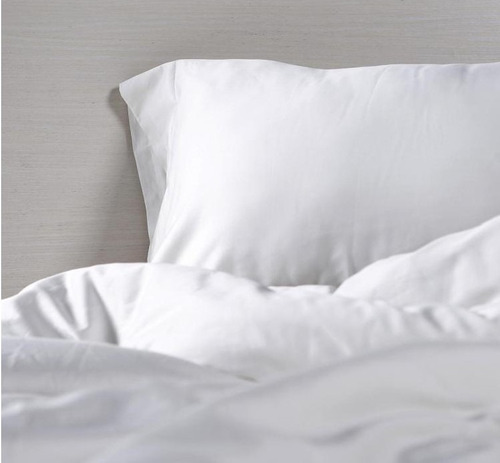 juego de sábanas blanco 180 hilos 100% algodón 1.40*1.90