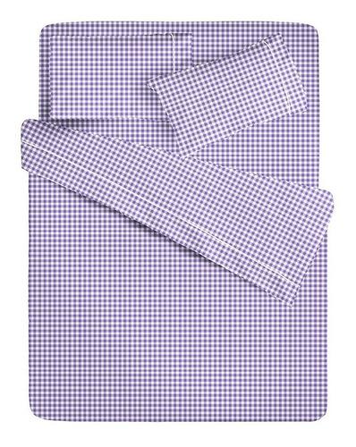 juego de sábanas colección araya diseño vichy queen