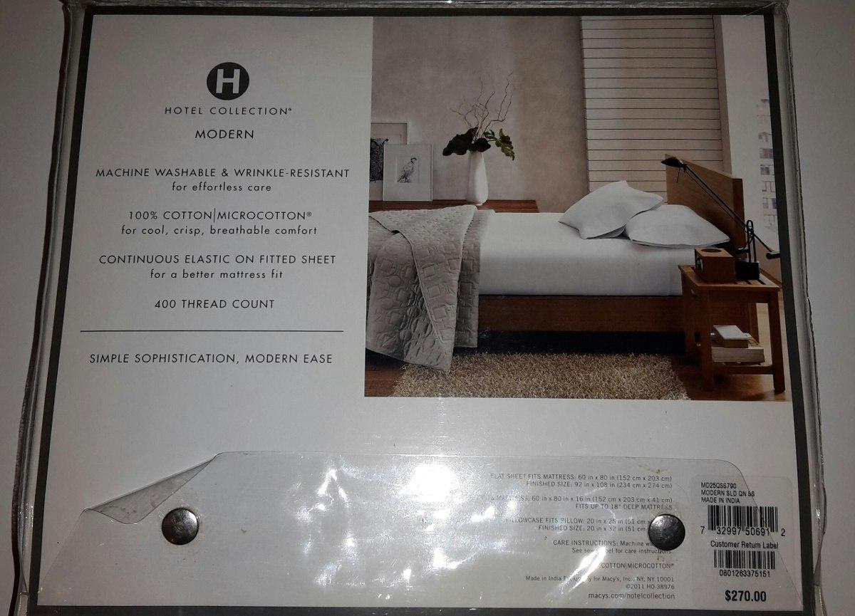 Juego De Sábanas De Lujo Queen Hotel Collection - Bs. 65.000.000,00 ...