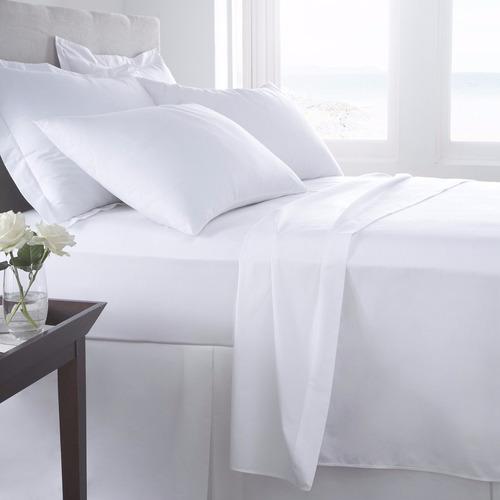 juego de sabanas doble 180 hilos lencería hotel y hogar