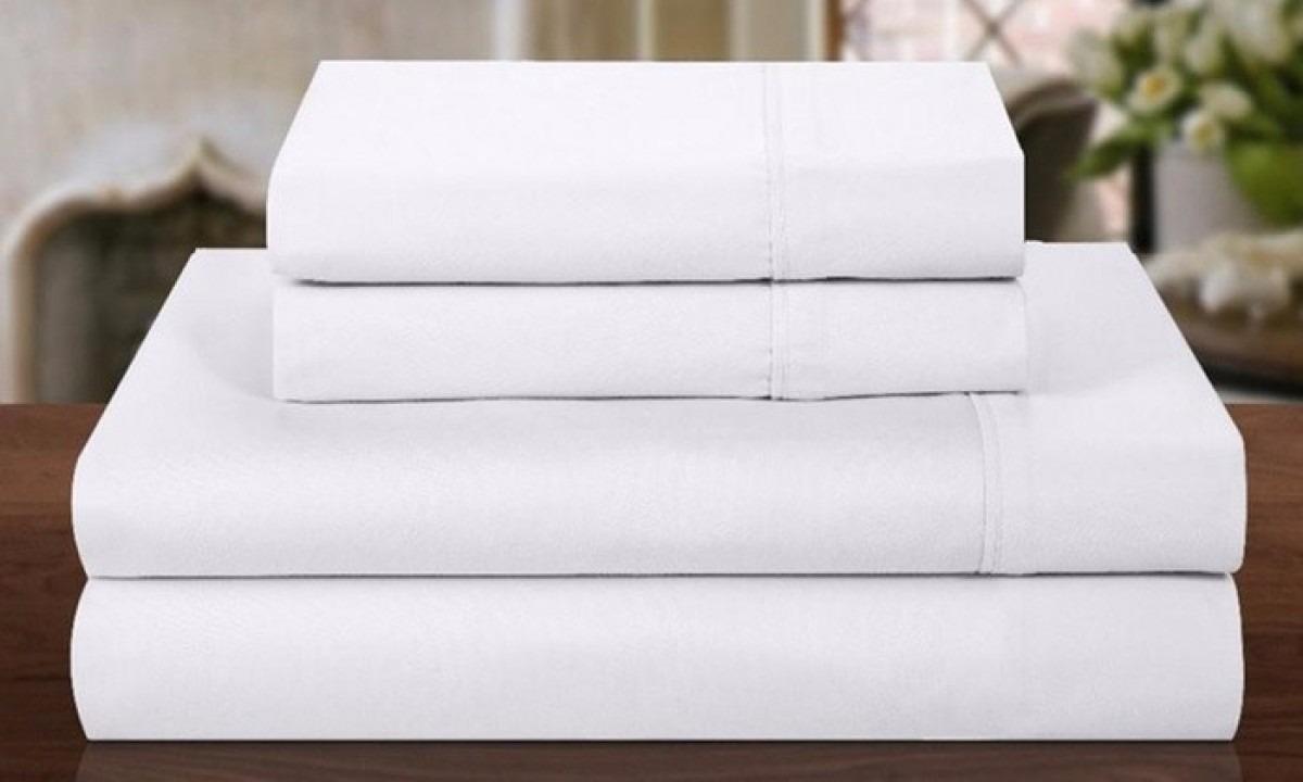 Juego de sabanas doble rayas blancas hotel promoci n for Medidas de sabanas para cama doble