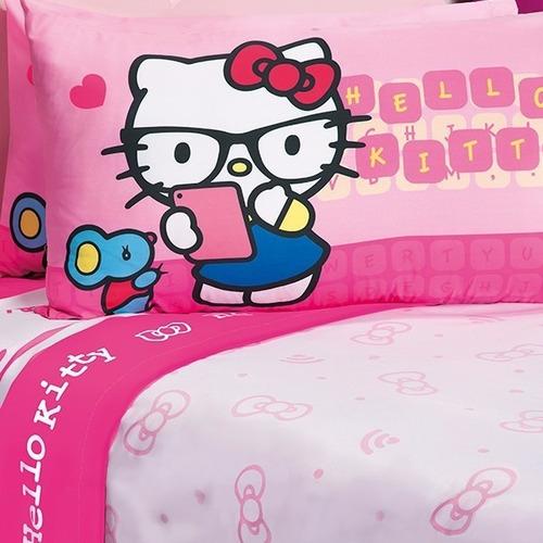 Juego de s banas hello kitty matrimonial ni a envio gratis en mercado libre for Juegos de hello kitty jardin