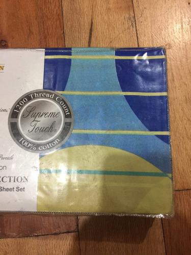juego de sabanas individual 100% algodon excelente calidad