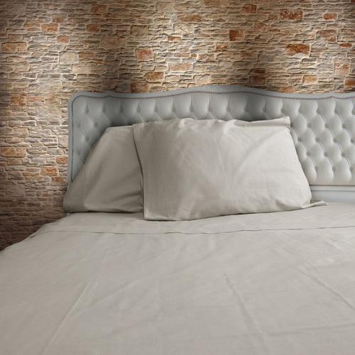 juego de sabanas king size bio mattress gris