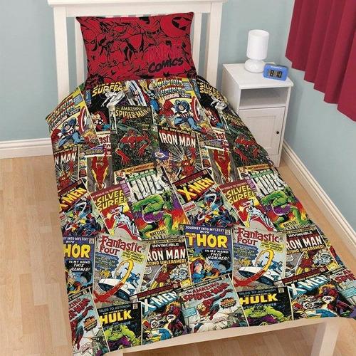 juego de sabanas marvel comics importado 100 % oficial