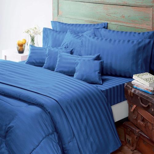 juego de sábanas queen size nautica 400 hilos 100% algodon