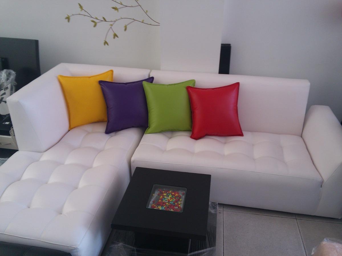 Juego De Sala En L Esquinera Promoción Variedad Colores ...
