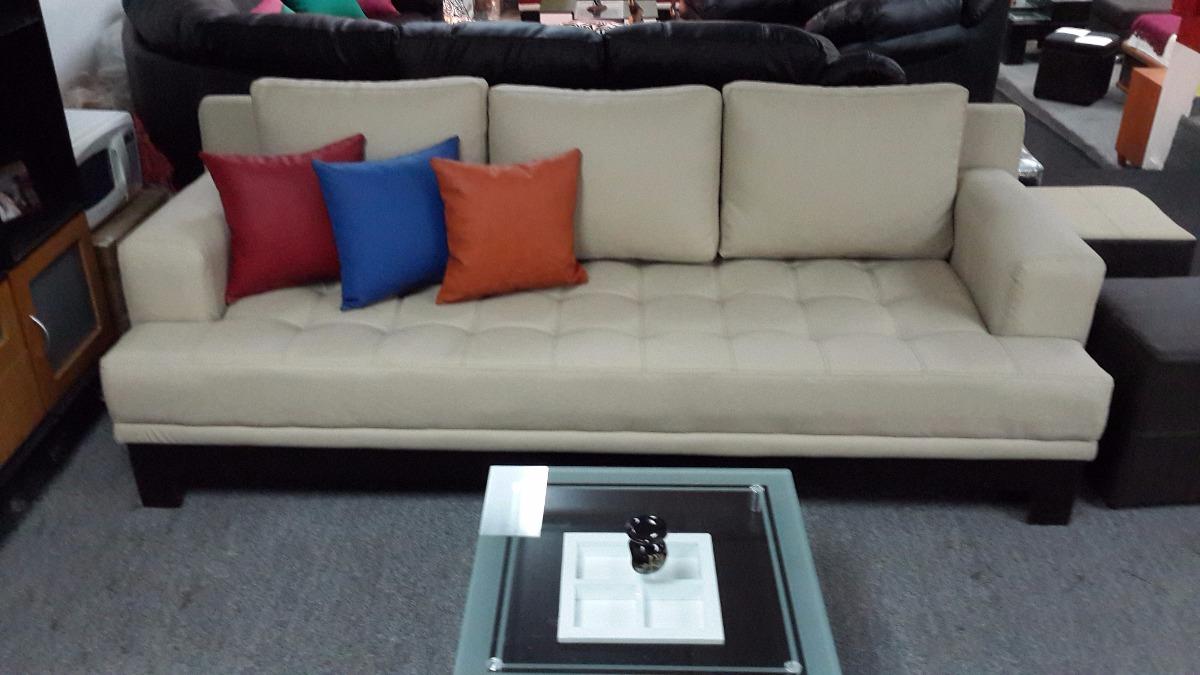 Juego de sala moderno minimalista sofa 3 y sofa 2 puestos for Juego de sala precios