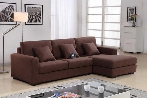 juego de sala, mueble de sala seccional lucia + 3 cojines