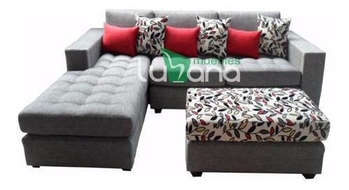 juego de sala seccional, muebles de sala, sofa
