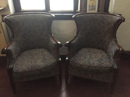 juego de sillones antiguos en perfecto estado luis xv