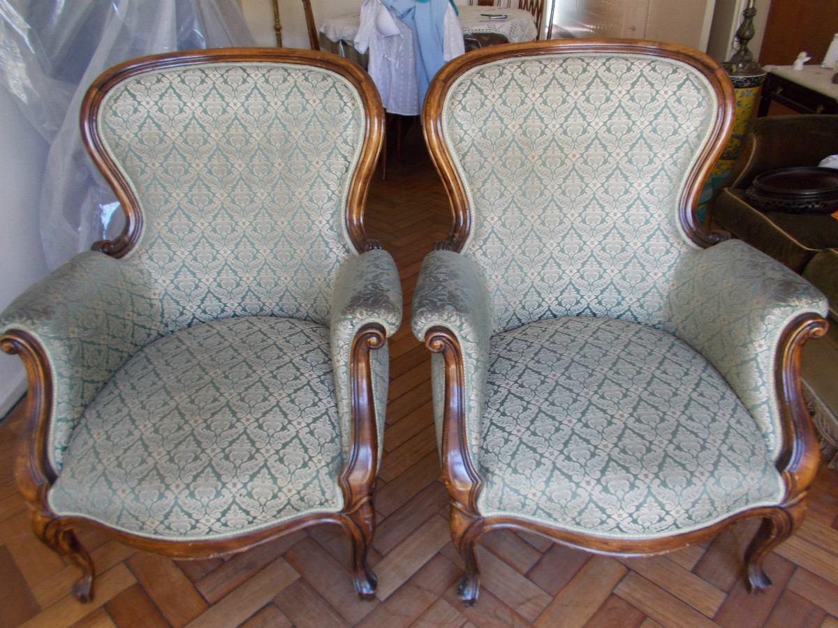 Silloncitos de estilo sofa sillon estilo frances luis xv de cuerpos y sillas silln silln - Sillas estilo ingles ...