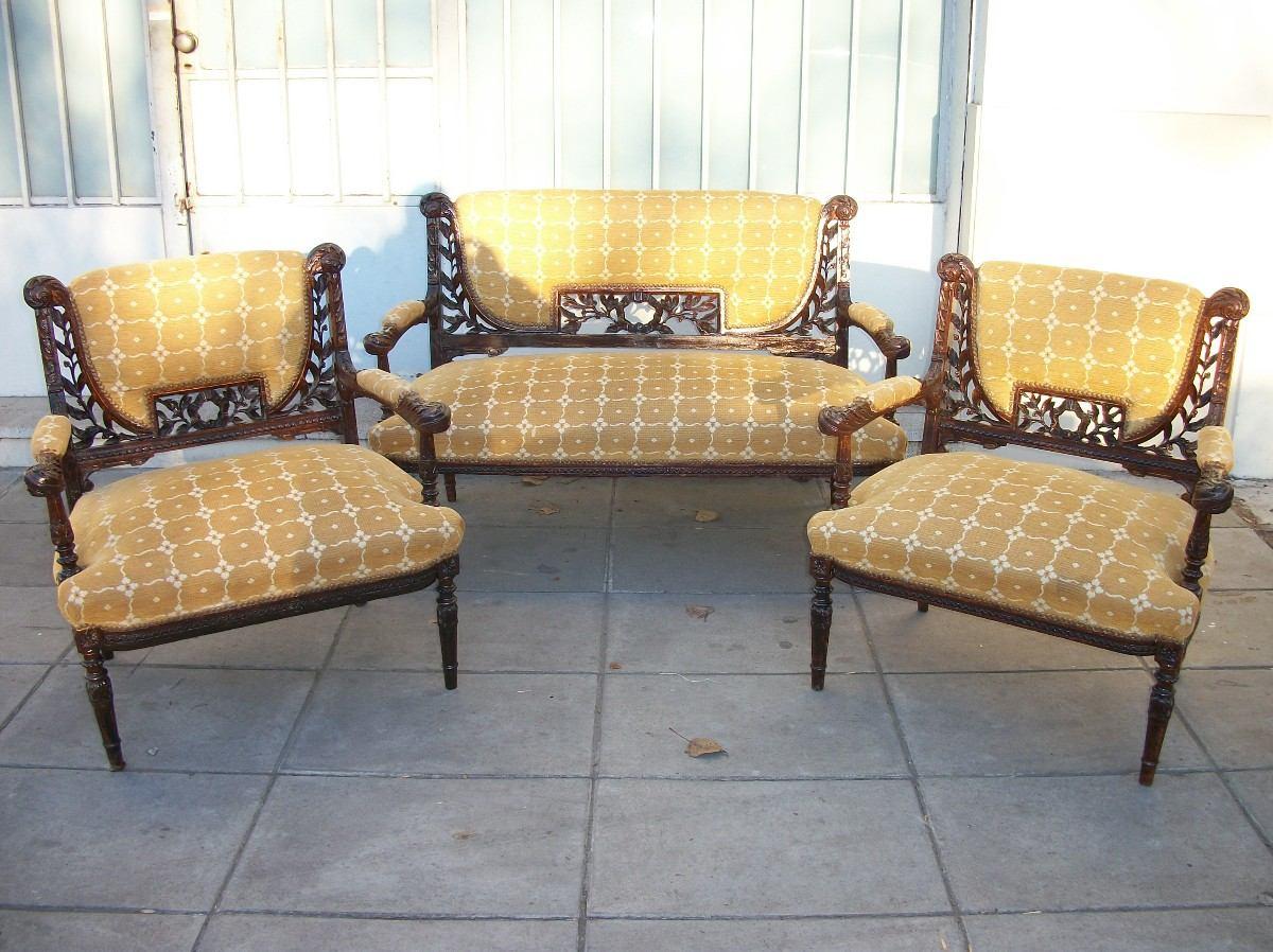Sillones para sala fabulous silla multiusos apilable y - Sillones estilo frances ...