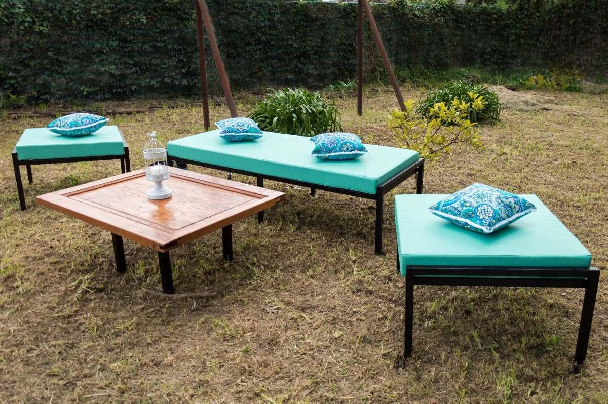 juego de sillones para jardin