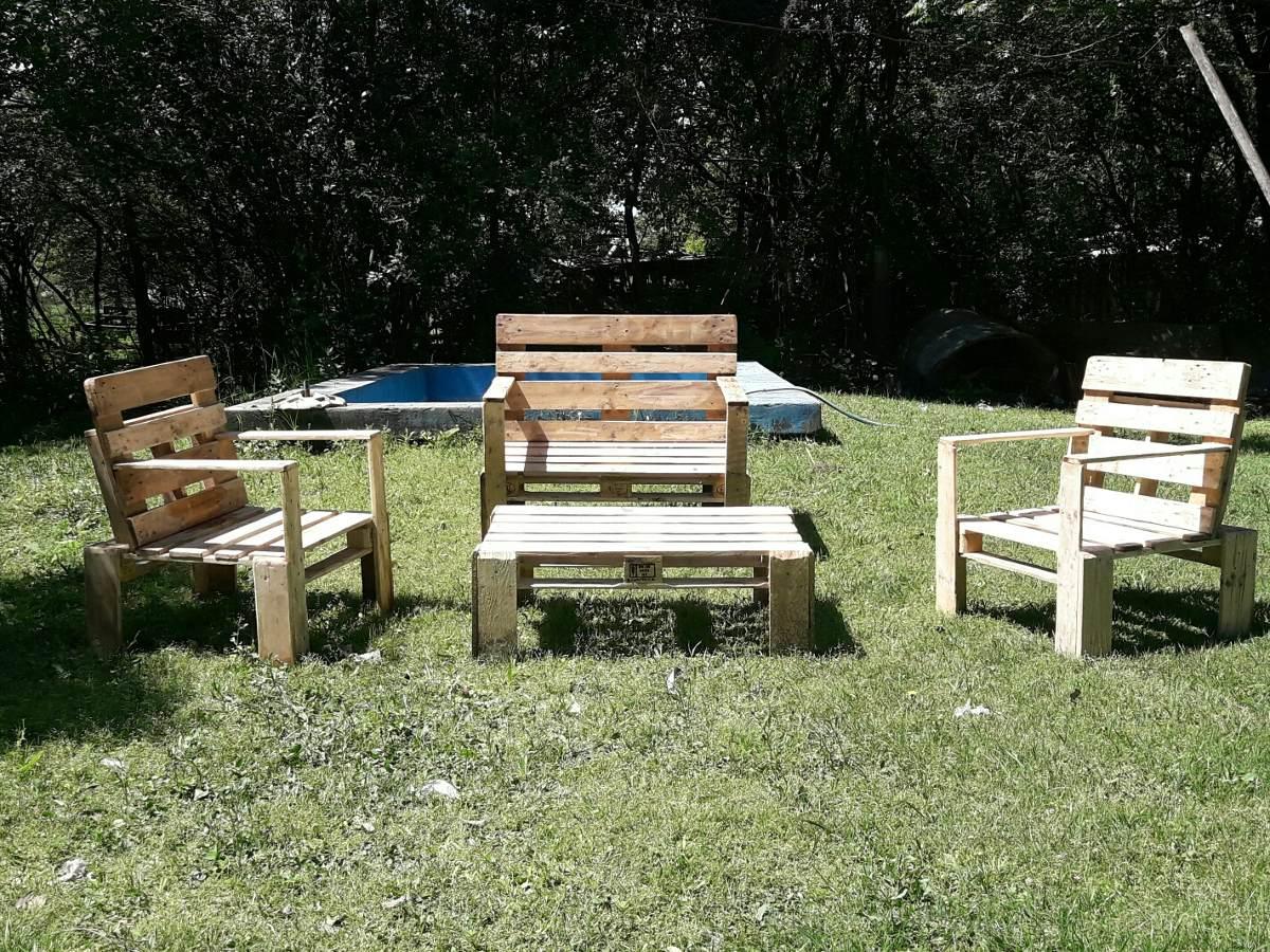 Sillones hechos de palet gallery of sillones hechos de palet with sillones hechos de palet - Juegos de jardin con tarimas ...