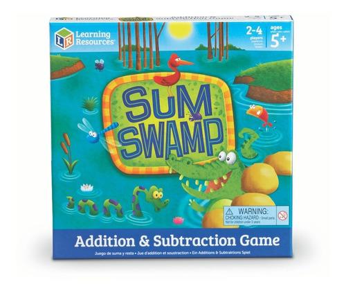 juego de suma y resta sum swamp