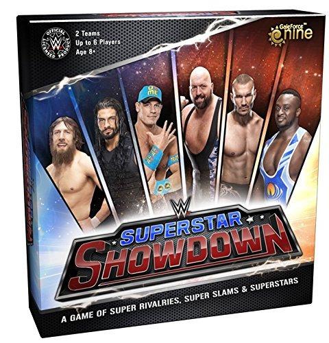 juego de tablero de wwe superstar showdown