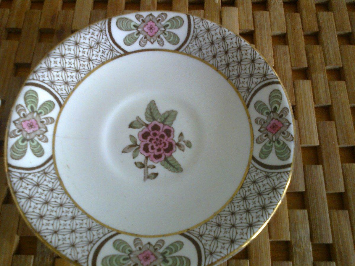 Juego de taza y plato de vajilla inglesa 400 00 en for Platos vajilla