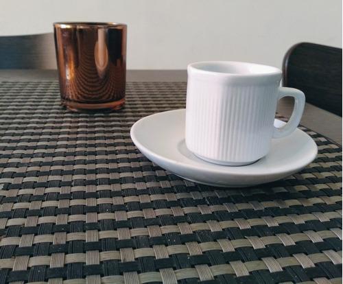 juego de tazas de café.
