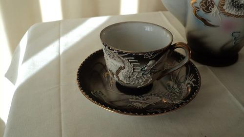 juego de tazas de café - exclusivo