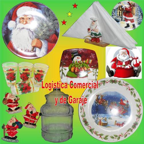 juego de tazas + platos de porcelana (12 pzas) 80 ml navidad