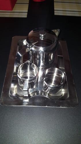 juego de té 4 piezas