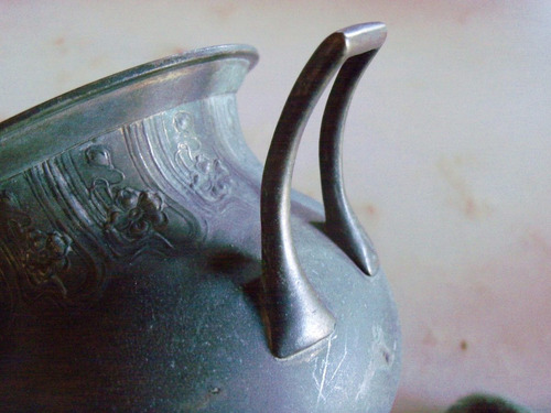 juego de té en metal sellado