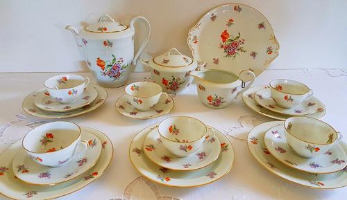 juego de té limoges chastagner